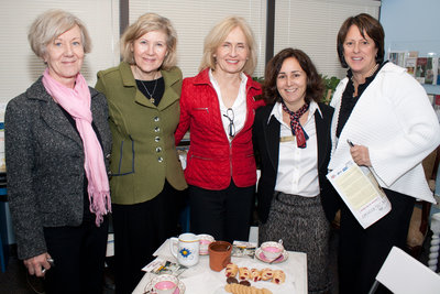 Sharon Regan, Cynthia Henderson, Vicky Keyes, Jane Teasdale & Lori Younder