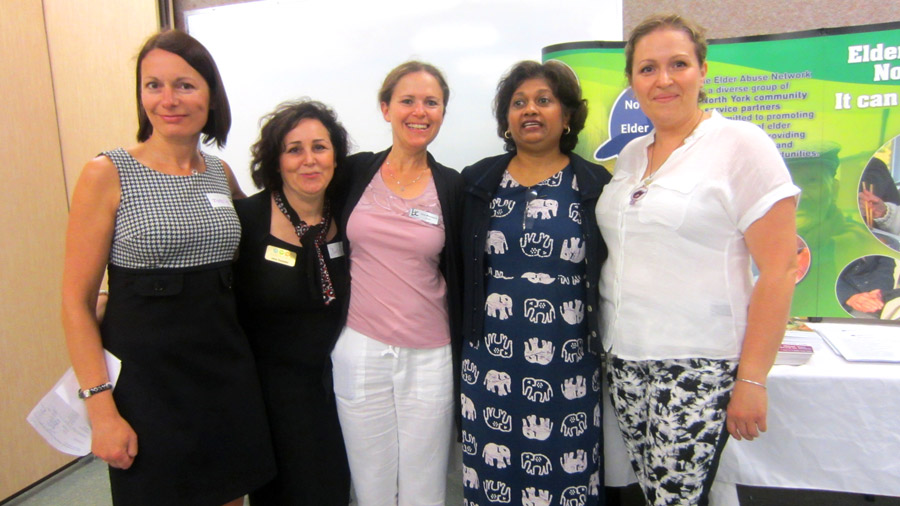 Part of the North York Elder Abuse Network team