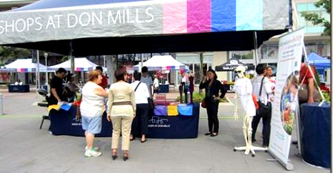 Shops at Don Mills Health Fair
