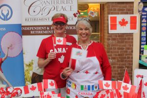 Canada 150th Birthday and Seniors' Month Celebration